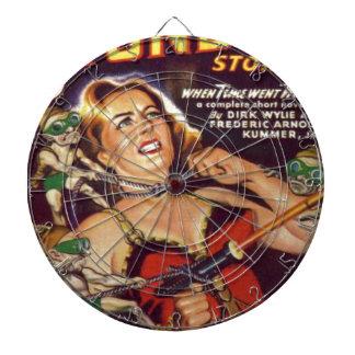 Dancing Girl and Evil Imps Dartboard