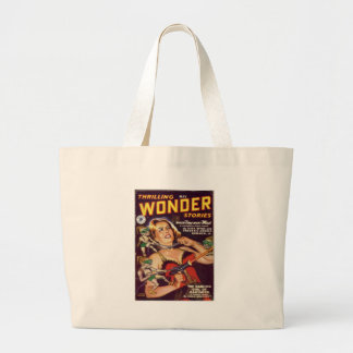 Dancing Girl and Evil Imps Large Tote Bag