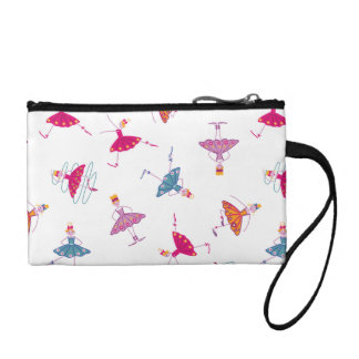 Dancing girls coin purse