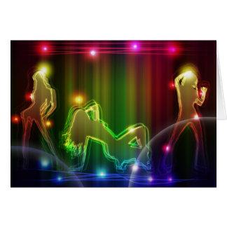 Dancing Girls - Greeting Card