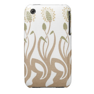 Dancing Grasses Pattern iPhone 3 Case