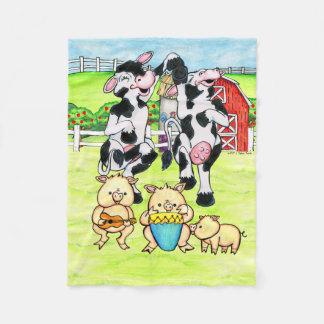 Dancing Holsteins & musical pigs blanket