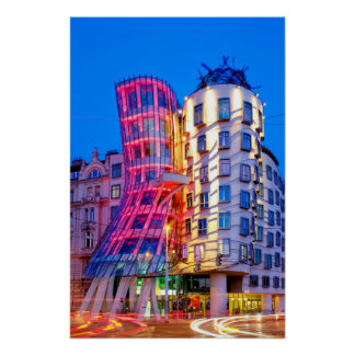 Dancing House Poster