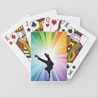 Dancing In Colour Playing Cards