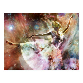 """Dancing In Stardust"" Postcard"