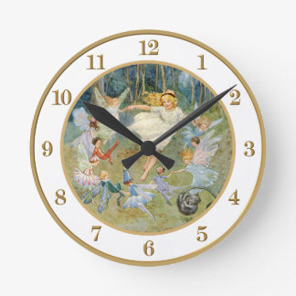 Dancing in the Fairy Ring Wall Clock