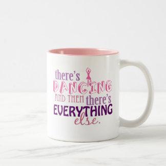 Dancing is Everything Two-Tone Mug