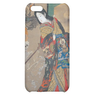 Dancing Japanese Skeletons Skeleton with Guitar iPhone 5C Cover