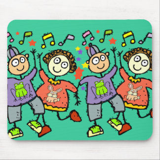 DANCING KIDS MOUSE PAD