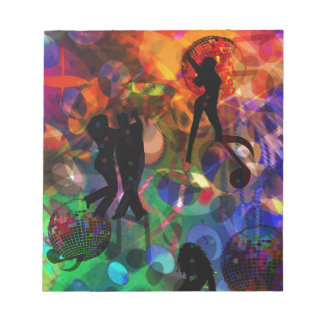 Dancing light , celebration party.PNG Notepad