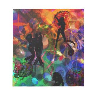 Dancing light , celebration party.PNG Notepads