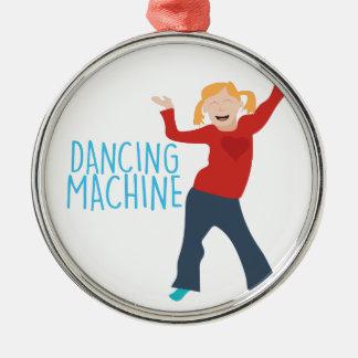 Dancing Machine Metal Ornament