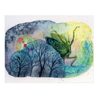 Dancing Mantis Postcard