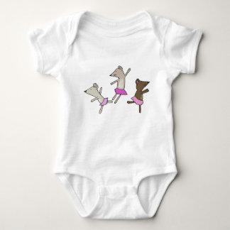 Dancing Mice Baby Bodysuit