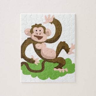 dancing monkey jigsaw puzzle
