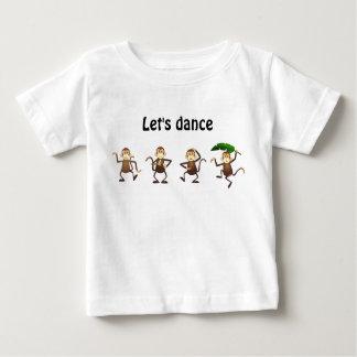 Dancing monkey, Let's dance Tees