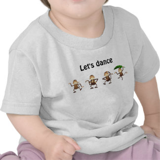 Dancing monkey, Let's dance Shirt