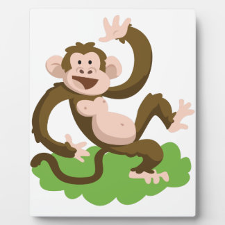 dancing monkey plaque
