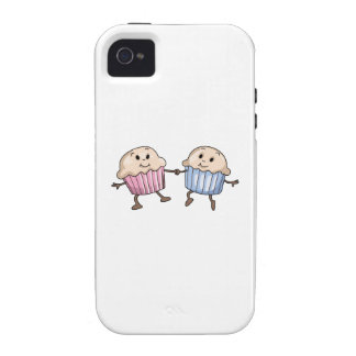 DANCING MUFFINS Case-Mate iPhone 4 COVERS