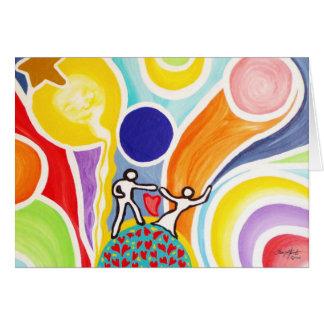 Dancing On Moonbeams Card