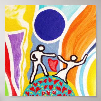 Dancing On Moonbeams Poster