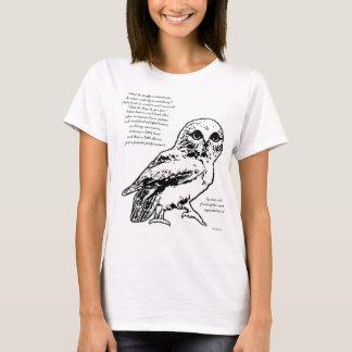 Dancing Owl Poem Tee