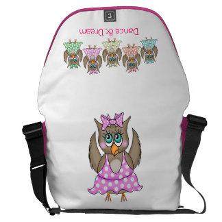 Dancing Owls Bag Messenger Bag