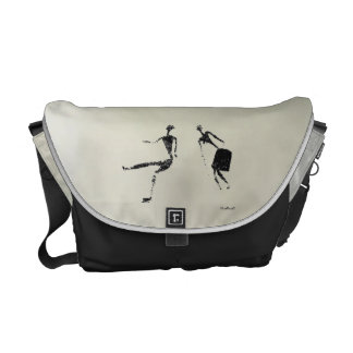 Dancing Pair Courier Bags