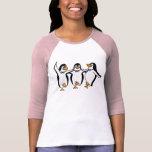 Dancing Penguins Tee Shirt