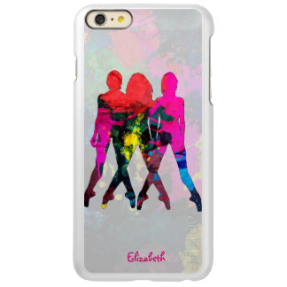 Dancing People Abstract Colors Incipio Case