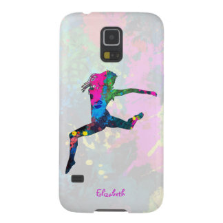 Dancing People Abstract Colors S5 Case