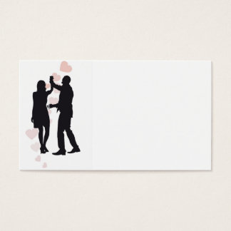 Dancing people business cards