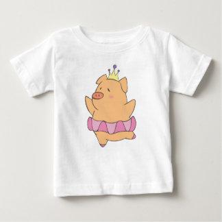 Dancing Pig Baby T-Shirt