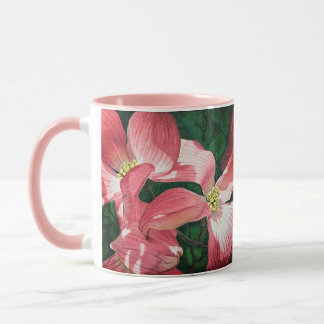 Dancing Pink Dogwoods. Love seeing thes blooms Mug
