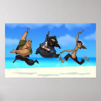 Dancing Pirates Poster