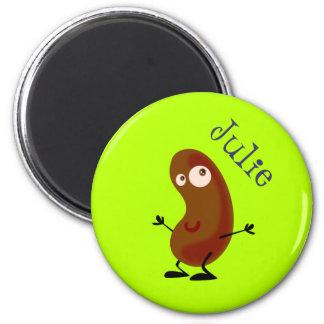 Dancing Potato 6 Cm Round Magnet