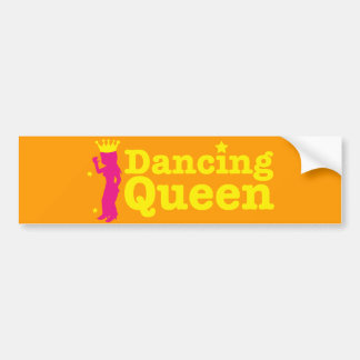 Dancing Queen Bumper Sticker