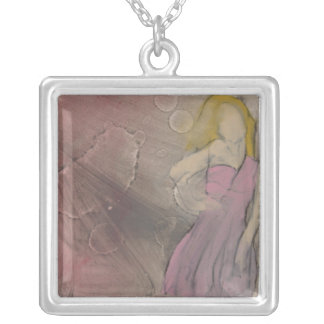 Dancing Queen-Necklace Silver Plated Necklace
