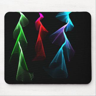 Dancing Rainbow Lightning Mouse Pad
