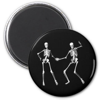 Dancing Retro Skeletons Magnet
