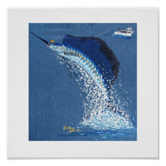 Dancing Sailfish Poster