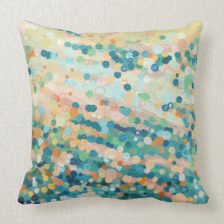 Dancing Sand Dotted Pillow by Margaret Juul.