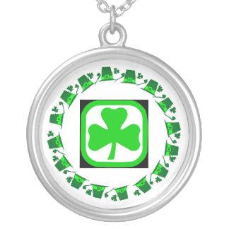 Dancing Shamrocks Custom Necklace