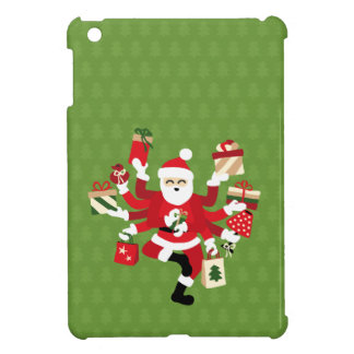 Dancing Shiva Claus - Spruce Forest Case For The iPad Mini