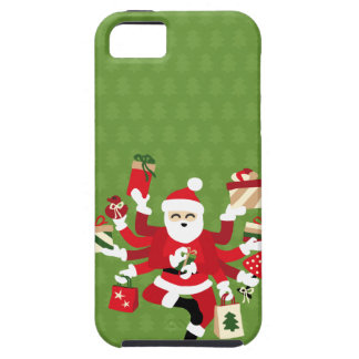 Dancing Shiva Claus - Spruce Forest Case For The iPhone 5