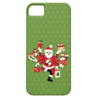 Dancing Shiva Claus - Spruce Forest iPhone 5 Cover