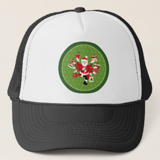 Dancing Shiva Claus Trucker Hat