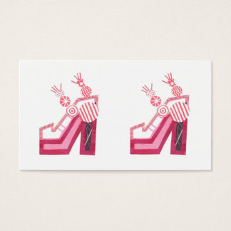 Dancing Shoes Business Cards