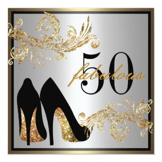 50th Birthday Invitations & Announcements | Zazzle.com.au