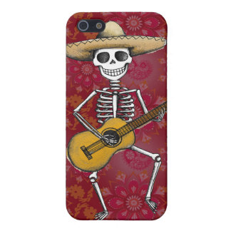 Dancing Skeleton iPhone 5 Case